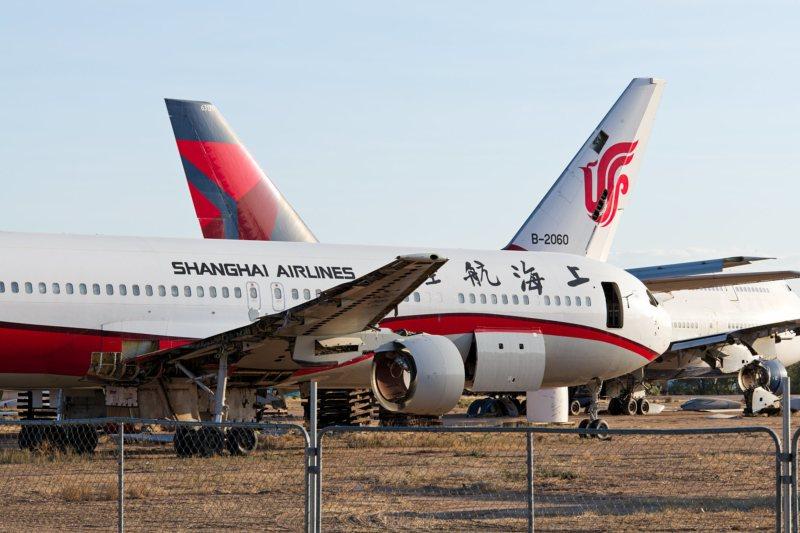 Boeing 767-300 von Shanghai Airlines